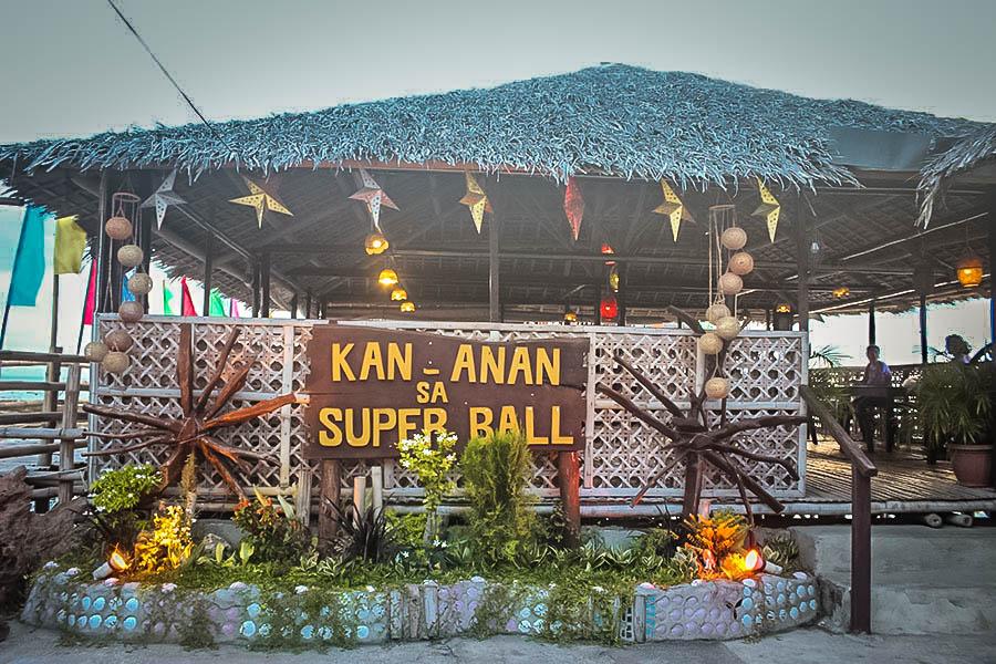 Superball Seafood Restaurant in Matalom, Leyte