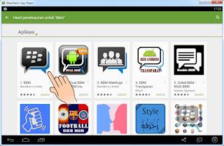 Daftar BBM di Android dan Laptop