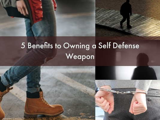 5 Benefits to Owning a Self Defense Weapon