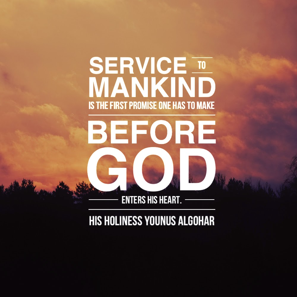 The Official MFI® Blog: Quote of the Day: Service to Mankind...