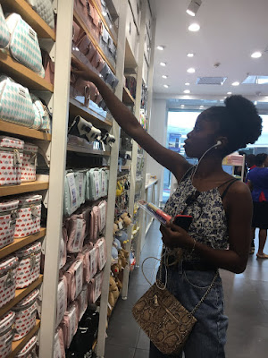 shopping at miniso lagos