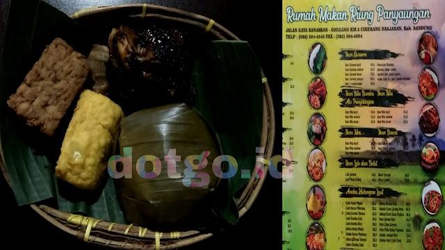 Kuliner khas sunda riung panyaungan bandung tempat wisata kuliner enak dan murah di jalan banjaran soreang bandung