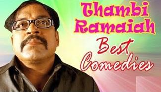 Thambi Ramaiah Comedy Collection | Best Tamil Comedy Scenes | MS Bhaskar | Kovai Sarala | Pandi