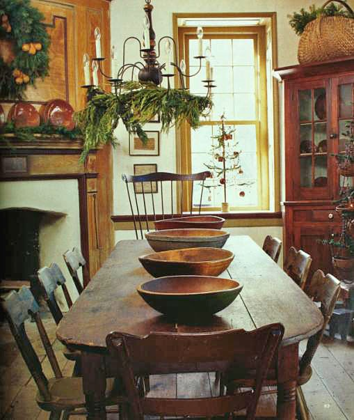 Colonial Home Design Ideas: Eye For Design: Decorating In The Primitive Colonial Style