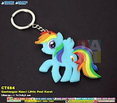 Gantungan Kunci Little Poni Karet
