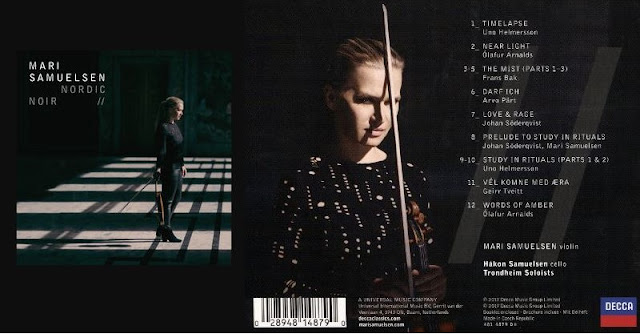 With 'Nordic Noir', Mari Samuelsen presents her recording debut as a soloist and devotes herself to mysterious, gloomy and melancholic compositions, which convey and characterize the character of Scandinavian crime stories that have established themselves over the last years as an independent genre.