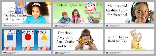 Pre-K Homeschool Lessons