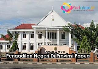Alamat Pengadilan Negeri Di Papua