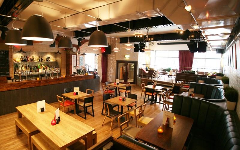 Desain  Denah Cafe