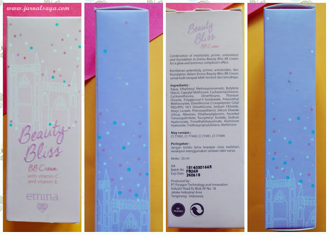 packaging emina beauty bliss bb cream