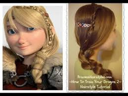 How to train your dragon hair tutorial, Astrid