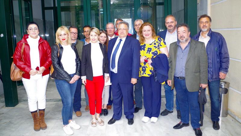 Πλήρες ψηφοδέλτιο κατέθεσε ο υποψήφιος Περιφερειάρχης ΑΜ-Θ Κώστας Κατσιμίγας