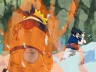 Naruto Kyubi vs Sasuke