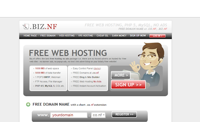Top 5 trusted free Web hosting Sites with NO Ads for Beginners