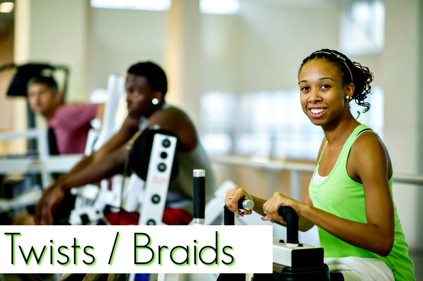 Working out with natural hair is easier than you think when you have the right tips and tools. Work outs can be fun and functional and we show you how!