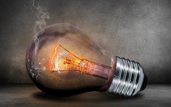 Wallpaper: Light Bulb. Glow. Creative. Photoshop