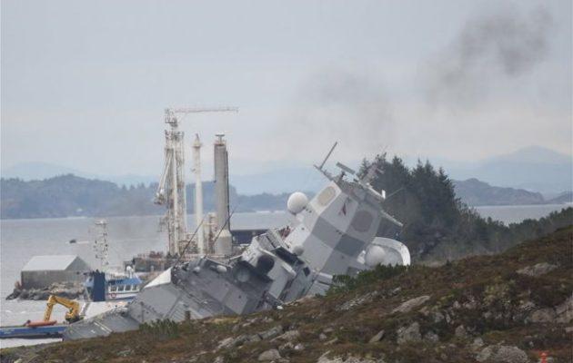 Ελληνικό τάνκερ εμβόλισε νορβηγική φρεγάτα – Το πολεμικό πλοίο είναι έτοιμο να βυθιστεί