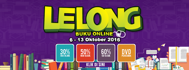 Promosi Lelong Buku Online Di Bookcafe Dari 6 - 13 Oktober 2016