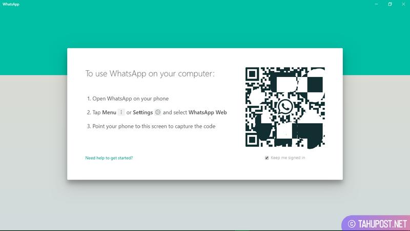 Scan QR Code pada WhatsApp Desktop