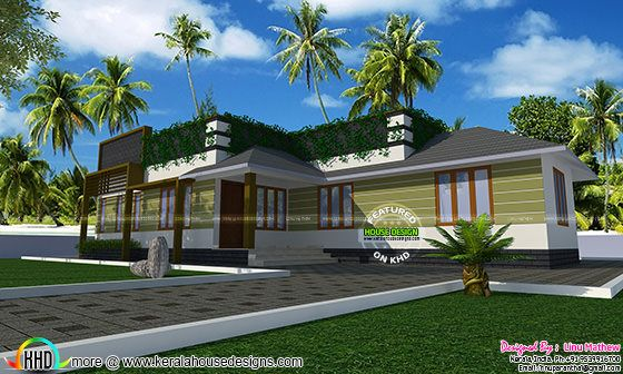 Modern home by Linu Mathew