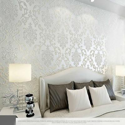 desain wallpaper kamar tidur terbaik