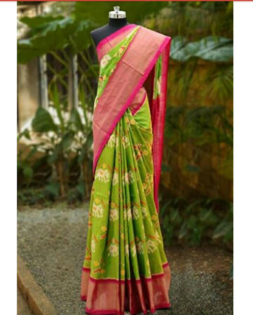 https://devihandlooms.com/shop/product/parrot-green-pochampally-ikkath-silk-saree/