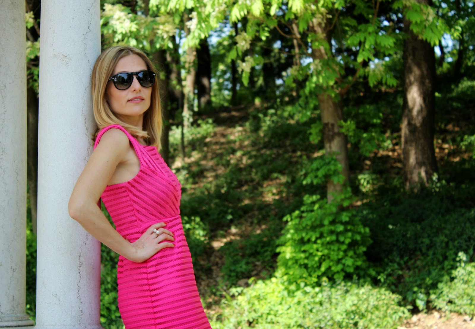 Eniwhere Fashion - Fuxia dress - Be Secrets