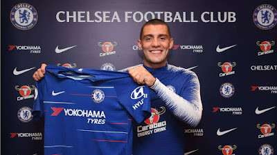 Chelsea complete season-long loan for Real Madrid midfielder Mateo Kovacic