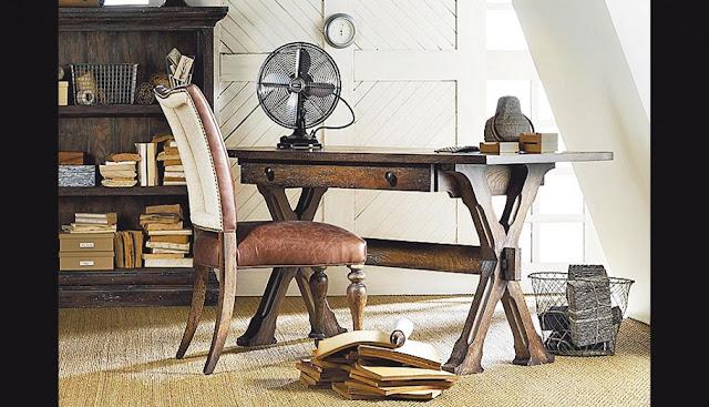 Decoraci n escritorio rustico o vintage - Escritorio vintage ...
