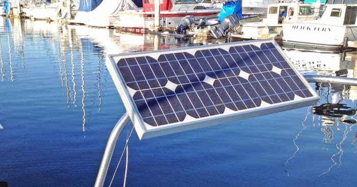 Captain Curran S Sailing Blog Solar Panels For Boats An