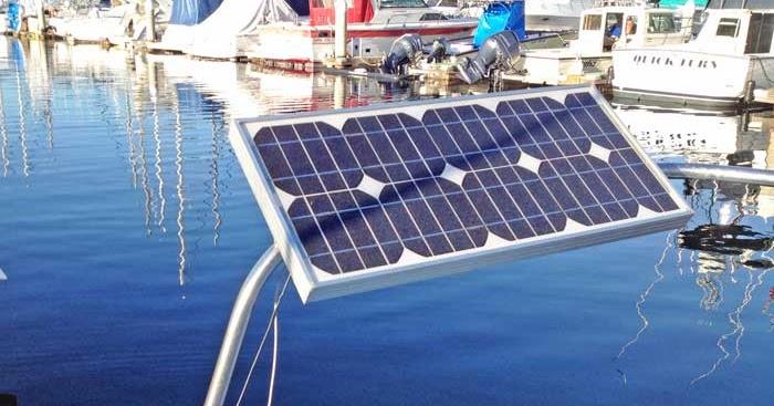 Captain Curran S Sailing Blog Solar Panels For Boats An
