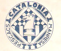 Escudo de la Peña d'Escacs Catalònia