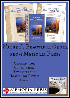 Nature's Beautiful Order from Memoria Press (A Homeschool Coffee Break Review) @ kympossibleblog.blogspot.com
