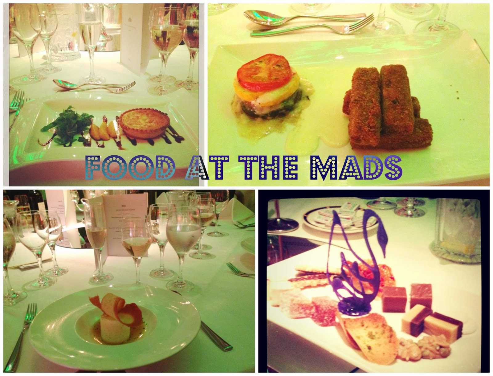 Fabulous food at Royal Garden Hotel - Mad blog awards 2014