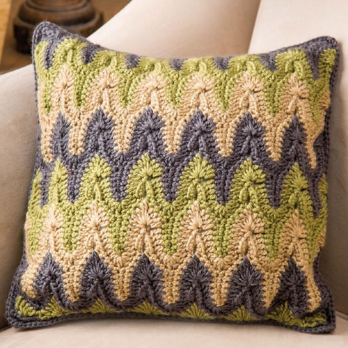 Bargello Pillow - Free Pattern
