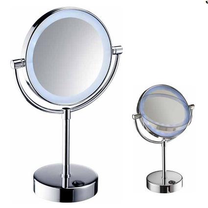 Espejo para bao con luz mabor lmpara de bao tocador luz w for Espejo de aumento con luz