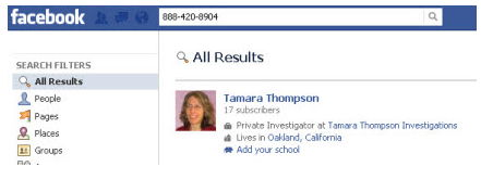 How Do I Lookup Facebook by Phone Number?