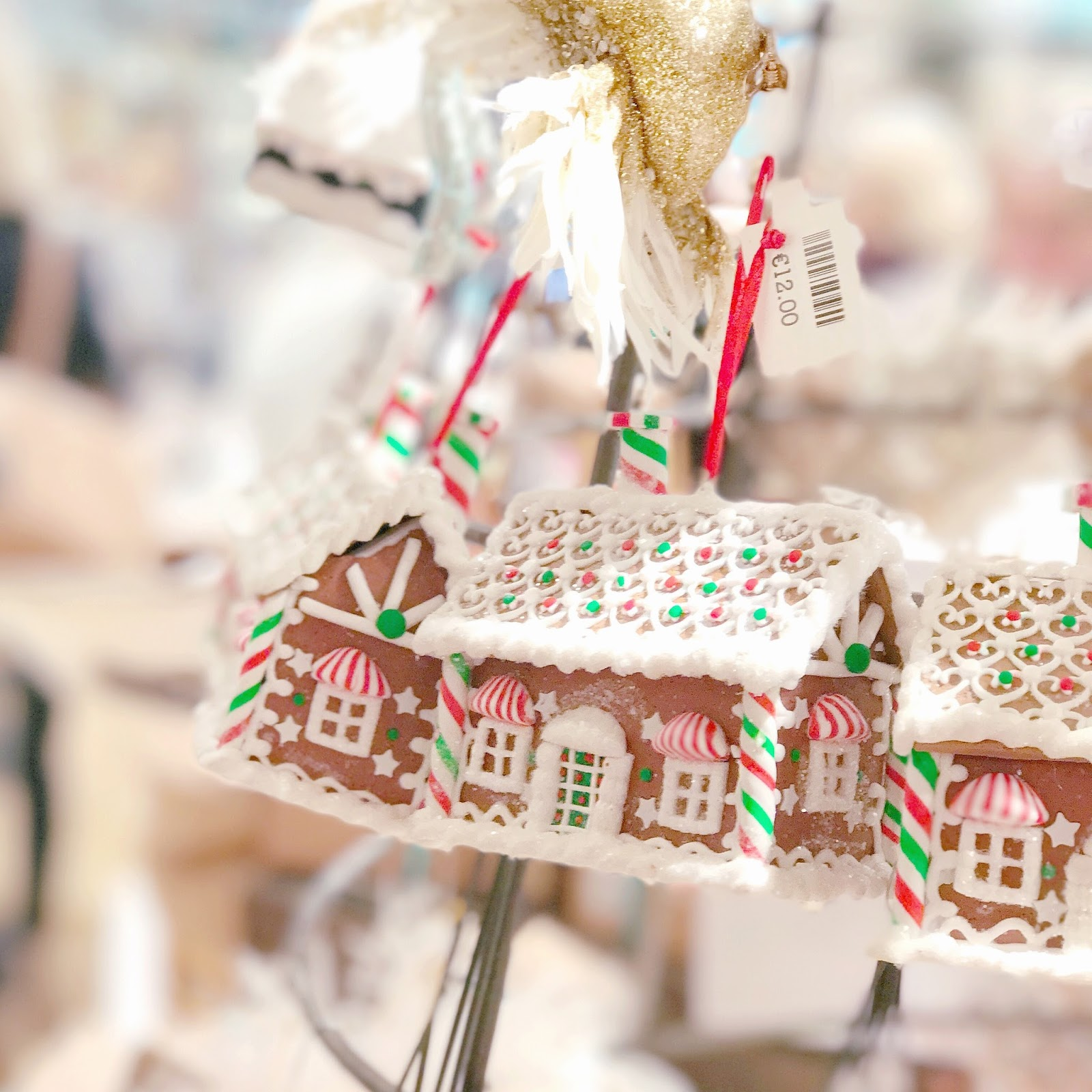 Anthropologie | Gingerbread House Decoration