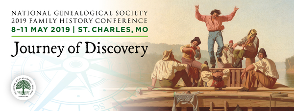 National Genealogical Society 2019 Family History Conference Program Now Available