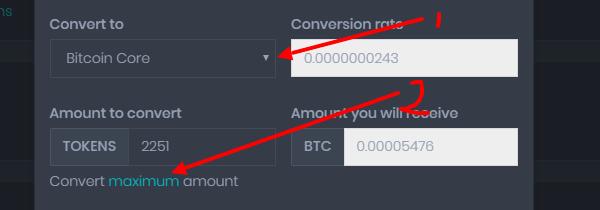 Конвертация любой валюты на биткоин