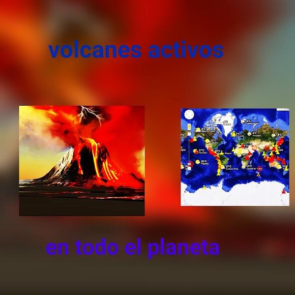 ALERTA: 29 volcanes están activos en estos momentos en el planeta tierra.
