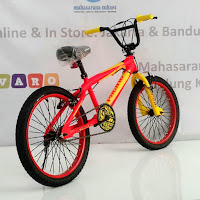 20 pacific spinix tc5.0 freestyle bmx bike