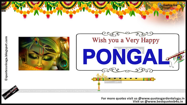 Happy Pongal Greetings in Hindi Tamil