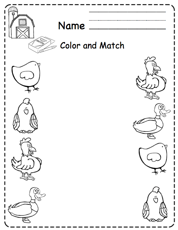 1000+ images about Pre-K Farm Theme Crafts/Worksheets on