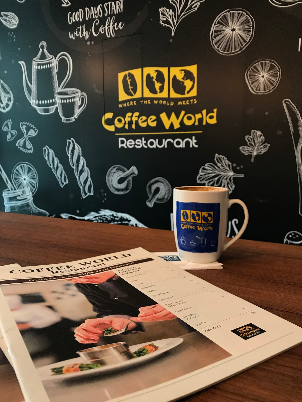 [Food Review] Coffee World Restaurant @ KL Gateway Mall. ~ More than just Coffee ~
