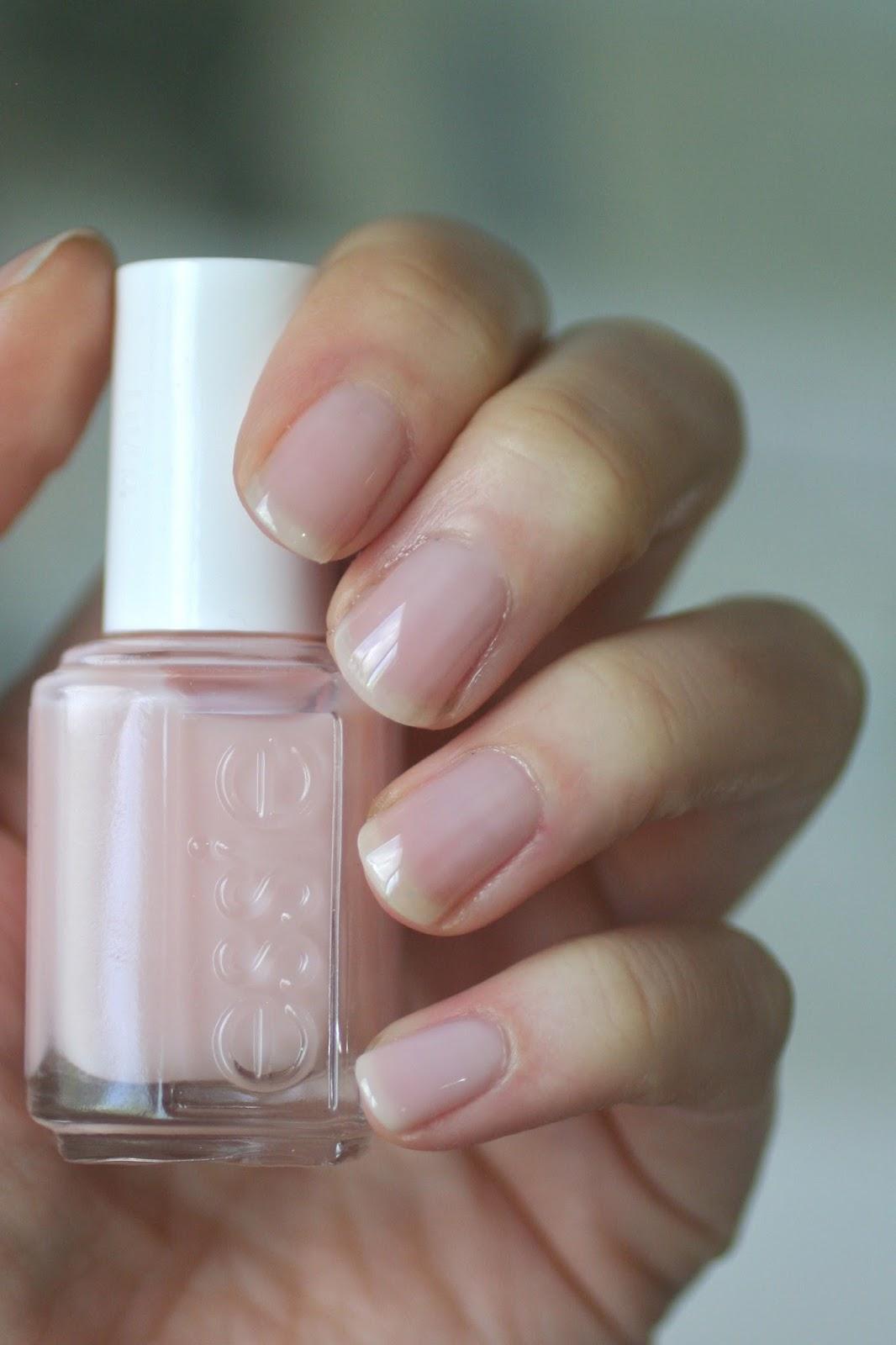 Essie Sheer Pink Comparison : Mademoiselle, Vanity Fairest, Sugar ...