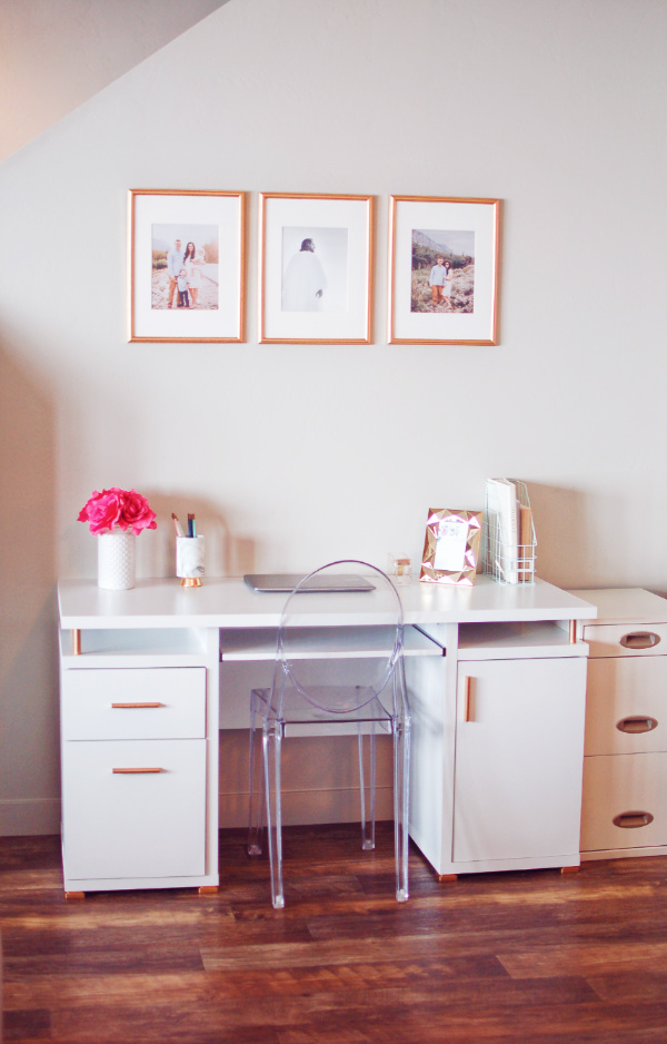 Surprising From Drab To Fab My Desk Decor Makeover On A Budget Beutiful Home Inspiration Xortanetmahrainfo