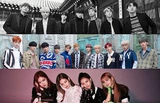 Penyanyi Korea Dengan Reputasi Brand Tertinggi Bulan Desember 2018