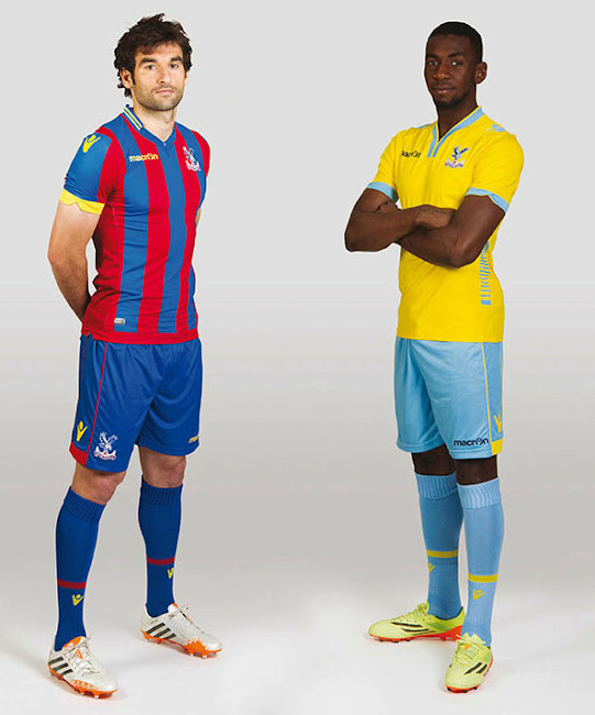 56feb3bf6 New Macron Crystal Palace 14-15 Kits Released - Footy Headlines