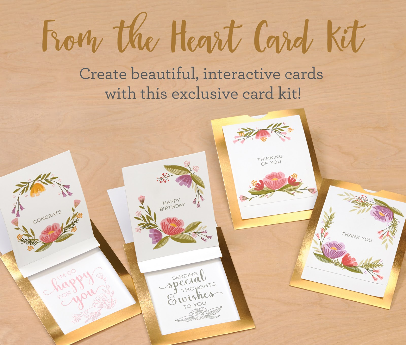 For National Stamping Month, Close To My Heart Has Released The Exclusive  From The Heart Card Kit, Which Contains A Double Stamp Set As Well As  Materials ...